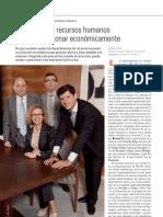 Mesa trabajo Recursos Humanos. Juan Luis Garrigós.