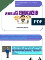 Comunicacion Primero 2009