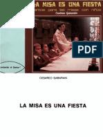 La Misa Es Una Fiesta, Cesareo Gabarain