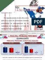 77.5 POR CIENTO DE GUANAJUATENSES APRUEBA GOBIERNO DE MÁRQUEZ