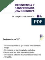 RESISTENCIA Y CONTRATRANSFERENCIA EN TERAPIA COGNITIVA.ppt