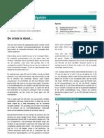 Flametree ABN AMRO Global Markets Update de Crisis is Dood