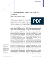 Complement Regulators and Inhibitory