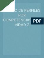 DISEÑO DE PERFILES POR COMPETENCIAS-ACTIVIDAD 2