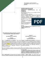Antiguo y Nuevo Reglamento de Aplicaci_n de La Ley de Lrti( (1)