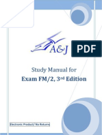 A&J Study Manual for SOA Exam FM/ CAS Exam 2