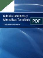 Culturas Cientyficas y Alternativas Tecnolygicas - Web