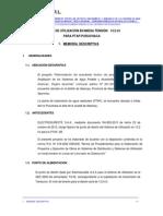1 Memoria Descriptiva PTAP Puruchaca