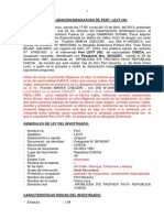 DECLARACIÒN INDAGATORIA CHECOSLAVACO