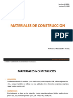 Materiales NO Metalicos - Organicos1