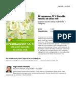 Dreamweaver Cc 1 Creacion Sencilla de Sitios Web