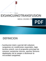 Exsanguinotransfusion Francisco Mena