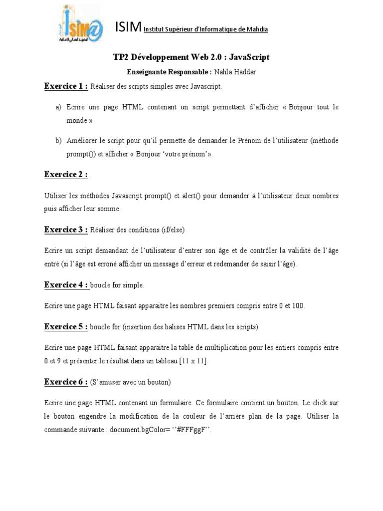 Correction Tp1 Javascript 3