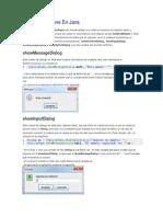 Usar JoptionPane en Java