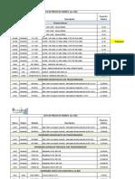 ENERSAC - Lista de Precios Ex-Fabrica - Diciembre 2012