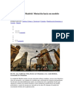 Miradas sobre Madrid - Mutación hacia un modelo policéntrico