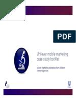Unilever - Mobile Marketing Case Study