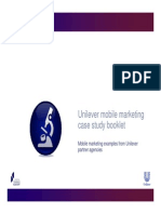 Unilever - Mobile Marketing Case Study