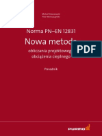 PL Poradnik Purmo - Norma PN-EN 12831 - Nowa metoda obliczania projektowego obciążenia cieplnego