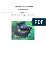 beta fish lab report