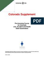 Colorado Supplement