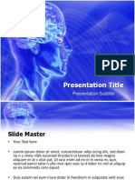 Animated Brain Teasers Powerpoint Template