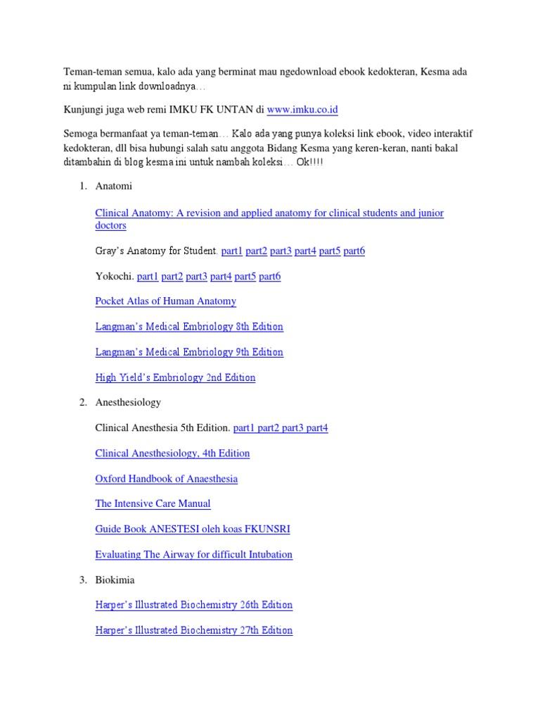 eBook download links | Radiology | Neurology