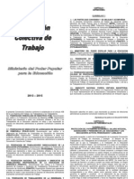VII Convención Colectiva de los Trabajadores de la Educación de Venezuela 2013 - 2015