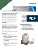 Honeywell Sensing Xyr6000 Valve Position Sensor Productsheet