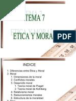 Tema7-Diferencia Etica y Moral