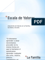 Escala de Valores