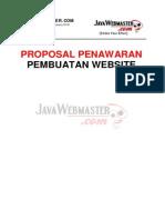 Proposal Pembuatan Web