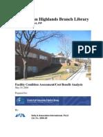 Washington Highlands Cost Benefit