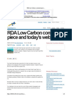 SWRDA Press Release Before and After - low carbon comment piece and today's webinar « swrda
