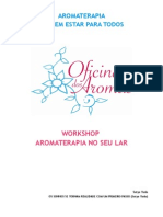 Workshop - Aromaterapia Para o Lar