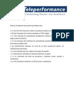 Documentos Para Contratacion