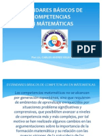 Estandares enCompetencias Math