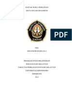 Daftar Judul Kolokium Oseanografi Kelas A