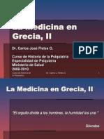 La Medicina en Grecia, II