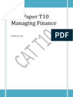 50842795 T10 Managing Finance Notes