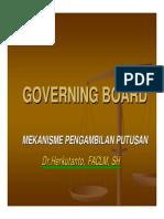 2 Kepengurusan & Mekanisme Pengambilan Putusan 2007 - Herkutanto