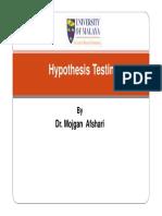 1 PPTX Hypothesis Testing