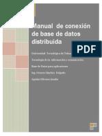 Manualdeconexindebasededatosdistribuida PDF