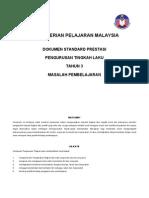 Dokumen Standard Prestasi Peng. t.laku Ld Tahun 3