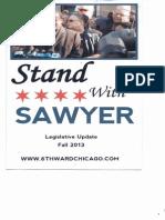 Stand With Sawyer