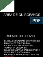 Area de Quirofanos