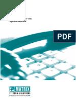 Simado Gfxd1111s v3 System Manual