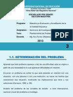 LA CANTUTA - CLASE 3- PLANTEAMIENTO DE PROBLEMAS CIENTÍFICOS