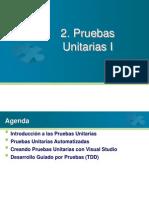 2. Pruebas Unitarias I