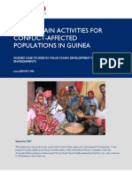 mR 90 - Value Chain Activities for Conflict-Affected Populations in Guinea